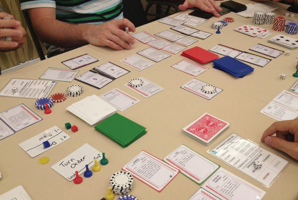 Protospiel Play Test by Accidental Cyclops